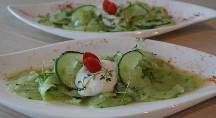 Komkommersalade Zoet Zuur